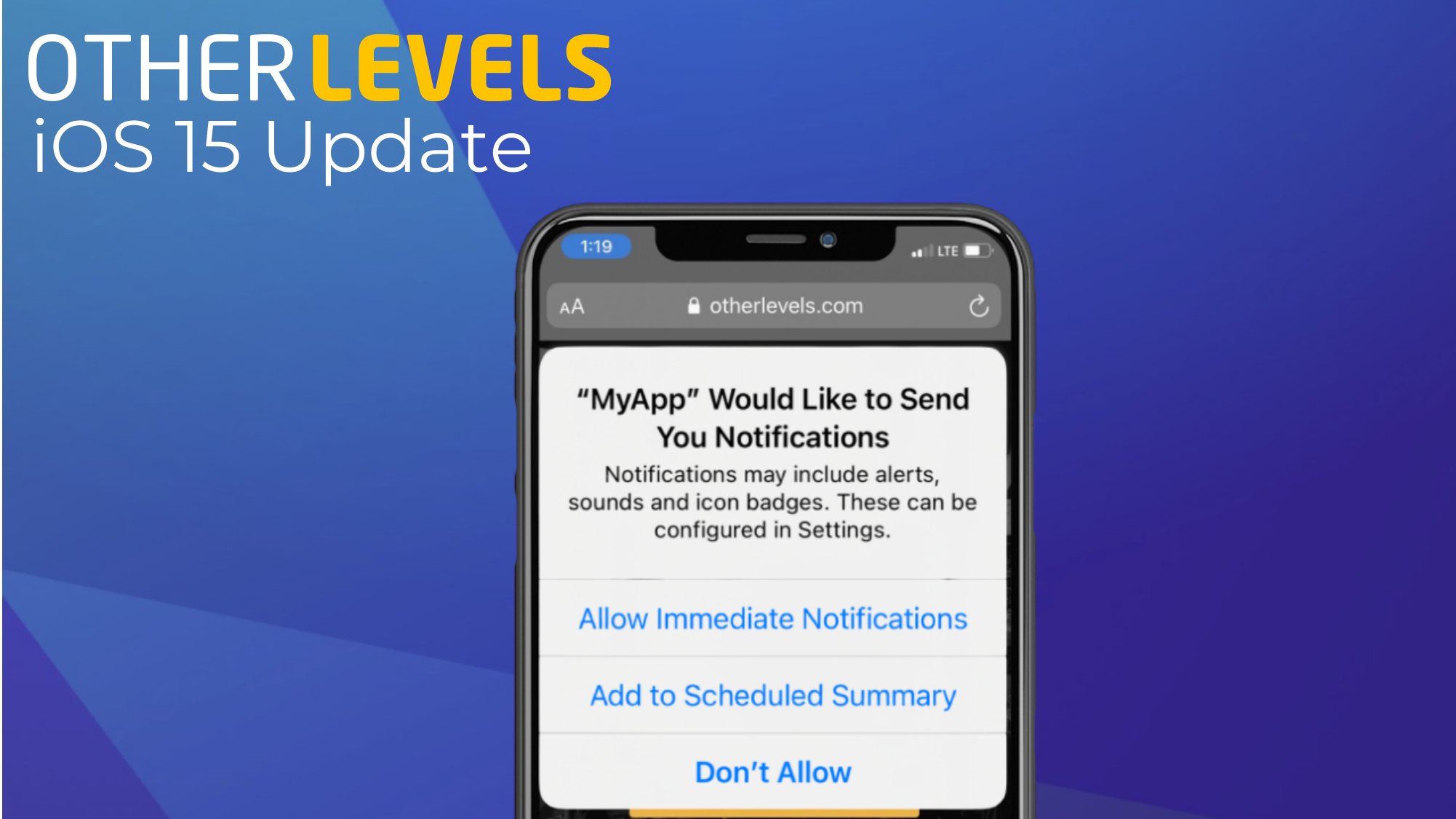 You are currently viewing The iOS 15 Update For Marketers