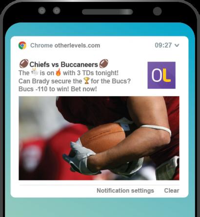 Otherlevels- NFL Android webpush